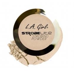 Wyjątkowy rozświetlacz do twarzy marki  L.A. Girl USA - Strobe Lite Strobing Powder -110 Watt