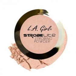 Rozświetlacz do twarzy L.A. Girl USA - Strobe Lite Strobing Powder -90 Watt