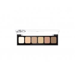 Korygująca i tuszująca paleta kamuflażu - Golden Rose -Correct&Conceal Camouflage Cream Palette - 01