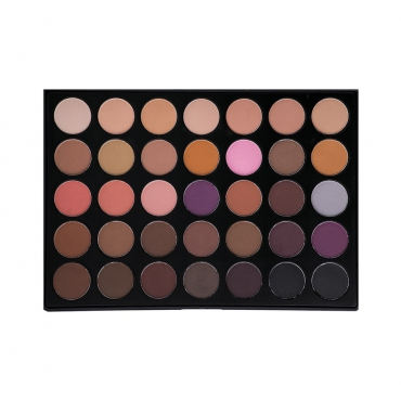 Morphe Brushes - 35N - 35 Color Matte Palette - paleta cieni