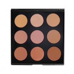 Morphe Brushes - 9BZ - That Glow Bronzer Palette - paleta bronzerów