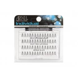 Kępki rzęs Ardell -Duralash Individual Naturals -Knot Free - Medium Black