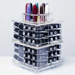 Organizer na pomadki  USADDICTED - Original Spinning Lipstick Tower -  Clear
