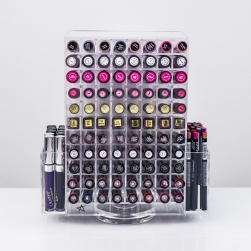 Organizer na pomadki  USADDICTED - Liquid Lipstick Storage Tower - Clear