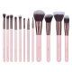 Zestaw pędzli Luxie - Rose Gold - Collection Synthetic 12 Piece Makeup Brush Set