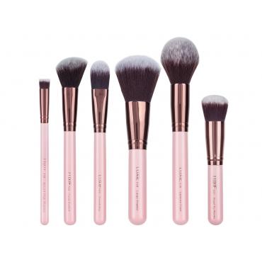 Zestaw pędzli Luxie - Rose Gold - Face  Essentials Brush Set