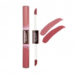 Pomadka Girlactik Matte Lip Paint Duo - Demure-Bashful