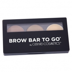 Paleta do brwi Gerard Cosmetics - Brow Bar To Go –Medium to Ebony