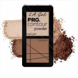 Zestaw do konturowania - L.A.Girl - PRO Contour Powder - Natural