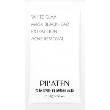 Oczyszczająca maseczka z białą glinką - Pilaten - White Clay Mask 10g