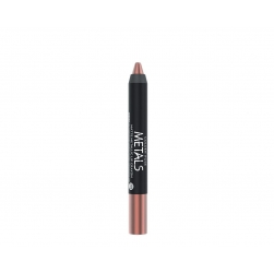 Golden Rose - Metals Matte Metallic Lip Crayon - 02