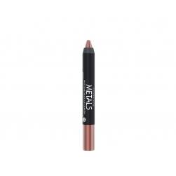 Metaliczna matowa pomadka w kredce - Golden Rose - Metals Matte Metallic Lip Crayon -  03