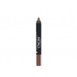 Metaliczna matowa pomadka w kredce - Golden Rose - Metals Matte Metallic Lip Crayon - 09