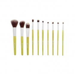 Zestaw pędzli  - BH Cosmetics - Eco Luxe 10 Piece Brush Set