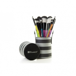 Zestaw pędzli - BH Cosmetics - Pop Art 10 Piece Brush Set