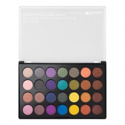 Paleta cieni - BH Cosmetics - Foil Eyes - 28 Color Eyeshadow Palette