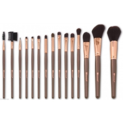Zestaw pędzli - BH Cosmetics - Rose Gold - 15 Piece Brush Set