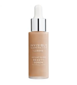 Tonujące serum do twarzy - LUMENE - Invisible Illumination Instant Glow Beauty - Universal Medium