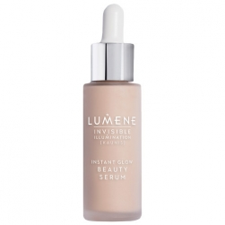 Tonujące serum do twarzy - LUMENE - Invisible Illumination Instant Glow Beauty - Universal Light