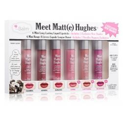 Zestaw mini pomadek theBalm Meet Matte Hughes