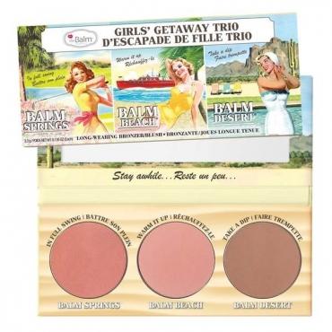 Paleta róży theBalm Girls' Getaway Trio