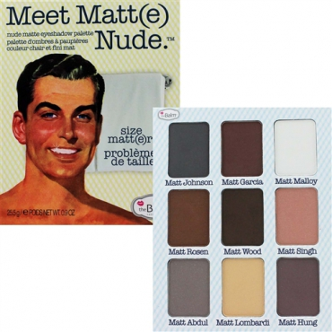 Paleta cieni do powiek The Balm Meet Matt