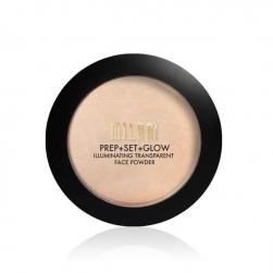 Puder transparentny Milani Prep + Set + Glow Illuminating Face Powder