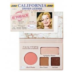 Paleta do makijażu theBalm California