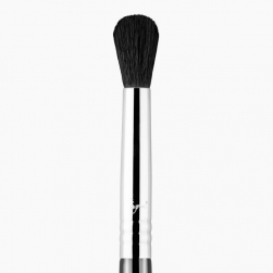 Pędzel do cieni - Sigma Beauty - E25 Blending  Brush - chrome