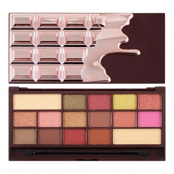 Paleta cieni - Makeup Revolution - Chocolate Rose Gold