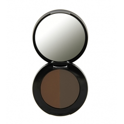 Cień do brwi - Freedom Makeup - Duo Eyebrow Powder - Auburn