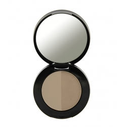 Freedom Makeup - Duo Eyebrow Powder - Auburn