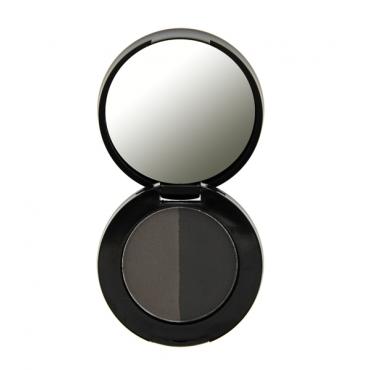 Freedom Makeup - Duo Eyebrow Powder - Ebony