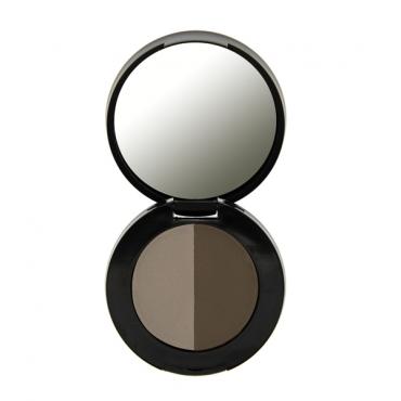 Freedom Makeup - Duo Eyebrow Powder - Granite