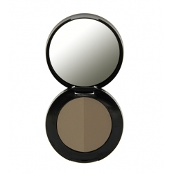 Cień do brwi - Freedom Makeup - Duo Eyebrow Powder - Taupe