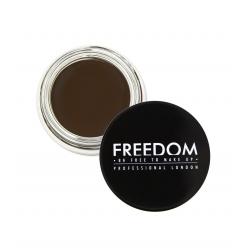 Cień do brwi - Freedom Makeup - Duo Eyebrow Powder - Ash Brown