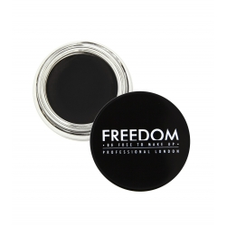 Pomada do brwi - Freedom Makeup - Pro Brow Pomade -   Granite