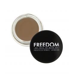 Pomada do brwi - Freedom Makeup - Pro Brow Pomade - Soft Brown