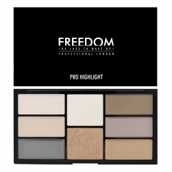 Paleta Rozświetlaczy  - Freedom Makeup - Pro Highlight Palette