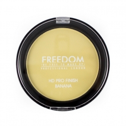 Puder do twarzy - Freedom Makeup - HD Pro Finish - BANANA