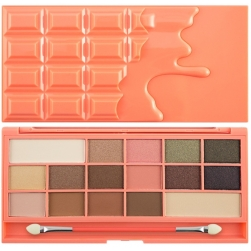 Paleta cieni - Makeup Revolution - Chocolate and Peaches