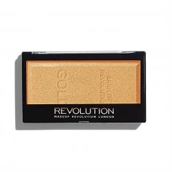 Rozświetlacz do twarzy - Makeup Revolution - Golden Goddess