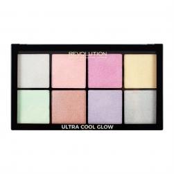 Paleta Rozświetlaczy  - Makeup Revolution - Ultra Cool Glow
