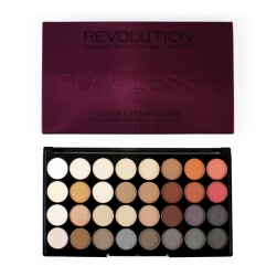 Paleta cieni - Makeup Revolution - Flawless 2