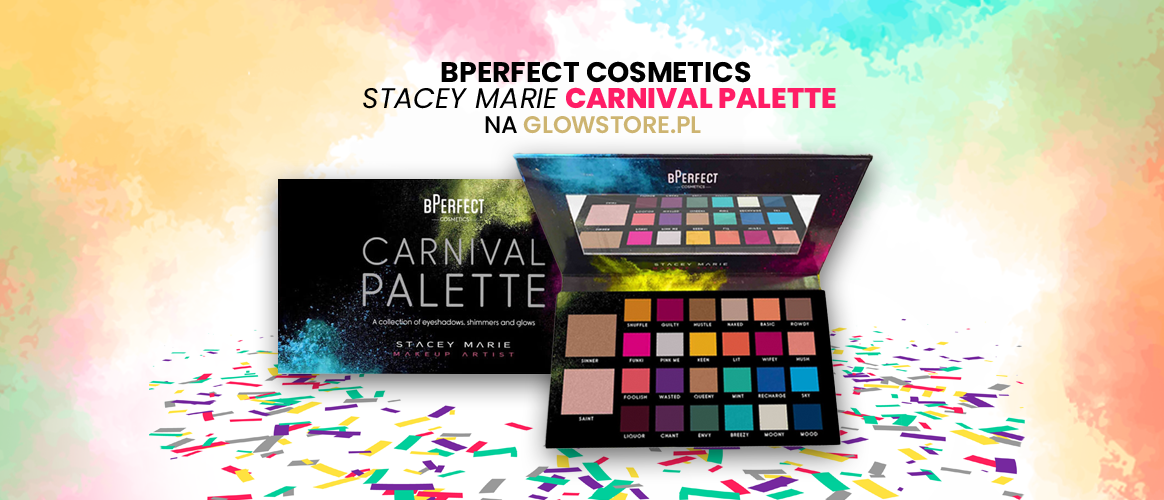 Paleta cieni bPerfect Cosmetics - Carnival Palette by Stacey Marie już na Glowstore.pl!
